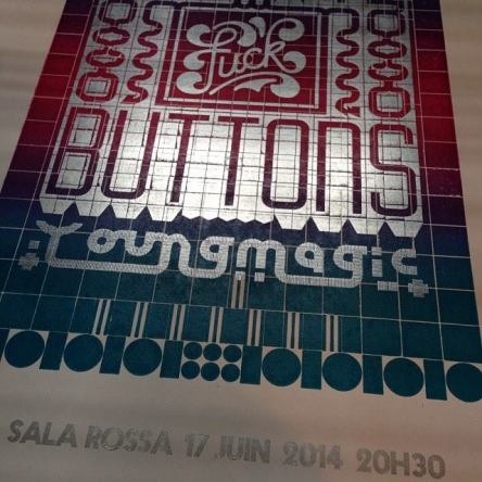 fuck buttons young magic sala rossa poster